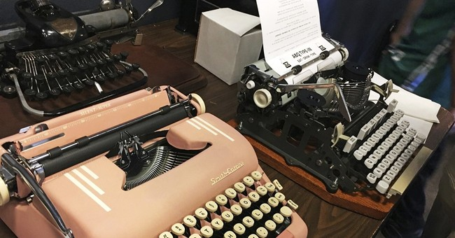 Vintage typewriters gain fans amid 'digital burnout'